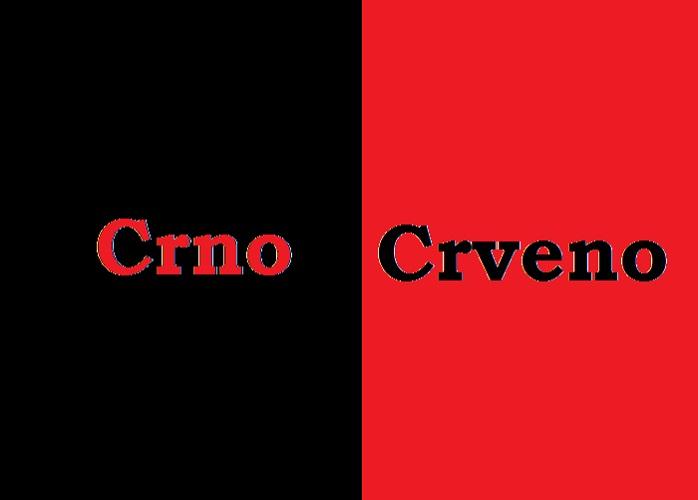 Crvena ljevica,crna desnica